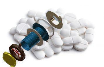 Tablettenventil als Armatur für Container